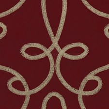 Wine Contemporary Drapery and Upholstery Fabric by Lee Jofa