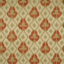Multi Reds/Taupes Drapery and Upholstery Fabric by Scalamandre