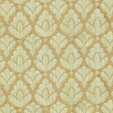 Green/Sienna Drapery and Upholstery Fabric by Scalamandre