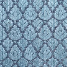 Blue/Navy Drapery and Upholstery Fabric by Scalamandre