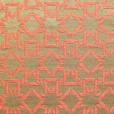 Arancio Drapery and Upholstery Fabric by Scalamandre