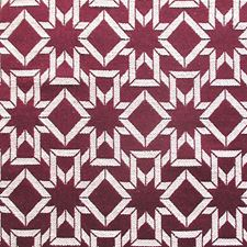 Rosso Bordeaux Drapery and Upholstery Fabric by Scalamandre