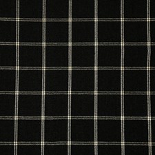 Black Check Drapery and Upholstery Fabric by Pindler