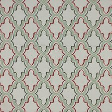 Tuscan Red Drapery and Upholstery Fabric by RM Coco