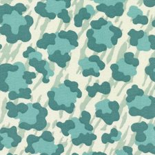 Palm Teal Drapery and Upholstery Fabric by Kasmir