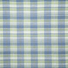 Green Check Drapery and Upholstery Fabric by Pindler