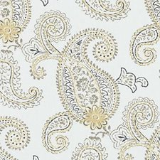 Honey Embroidery Drapery and Upholstery Fabric by Duralee