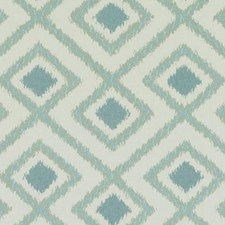 Aqua Diamond Drapery and Upholstery Fabric by Duralee