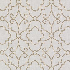 Antique Gold Metallic Drapery and Upholstery Fabric by Duralee