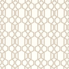 Bone Trellis Drapery and Upholstery Fabric by Duralee