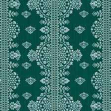Emerald Medallion Drapery and Upholstery Fabric by Duralee