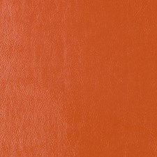 Orange Faux Leather Drapery and Upholstery Fabric by Duralee
