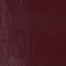 Maroon Faux Leather Drapery and Upholstery Fabric by Duralee