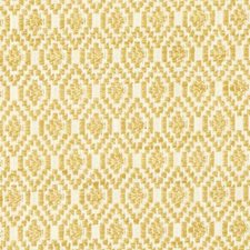 Yellow Diamond Drapery and Upholstery Fabric by Duralee