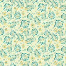 Turquoise Ethnic Drapery and Upholstery Fabric by Kravet