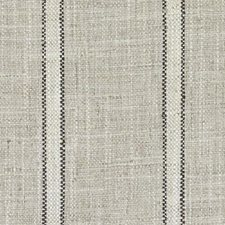 Black/Linen Stripe Drapery and Upholstery Fabric by Duralee