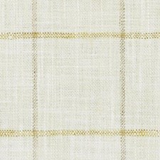 Creme/Gold Plaid Drapery and Upholstery Fabric by Duralee