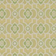 Avocado Geometric Drapery and Upholstery Fabric by Duralee
