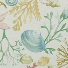 Caribbean Nautical Drapery and Upholstery Fabric by Duralee