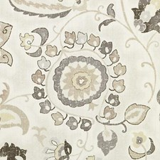 Greystone Floral Large Drapery and Upholstery Fabric by Duralee