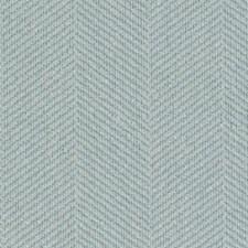 Aquamarine Herringbone Drapery and Upholstery Fabric by Duralee