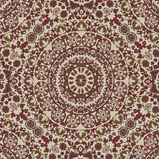 Pomegranate Medallion Drapery and Upholstery Fabric by Duralee