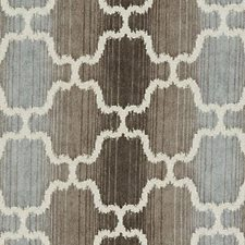 Cocoa/silver Drapery and Upholstery Fabric by Duralee