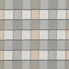 Grey Geometric Drapery and Upholstery Fabric by Duralee