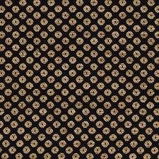 Black/gold Drapery and Upholstery Fabric by Duralee