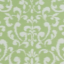 Pistachio Damask Drapery and Upholstery Fabric by Duralee