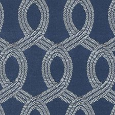 Navy Texture Drapery and Upholstery Fabric by Duralee