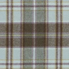 Sea Green Plaid Drapery and Upholstery Fabric by Duralee