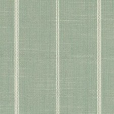 Sea Green Stripe Drapery and Upholstery Fabric by Duralee