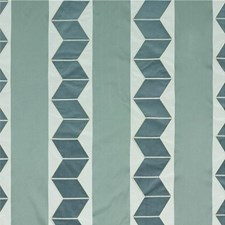 Aqua Silk Drapery and Upholstery Fabric by Threads