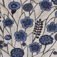 Cobalt Drapery and Upholstery Fabric by Silver State