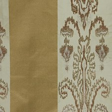 Gold Leaf Drapery and Upholstery Fabric by RM Coco