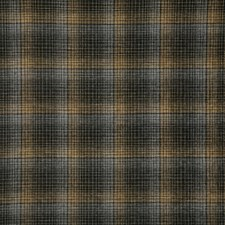 Toffee Check Drapery and Upholstery Fabric by Pindler