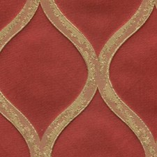 Flame Drapery and Upholstery Fabric by RM Coco