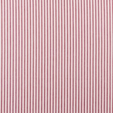 Red Stripes Drapery and Upholstery Fabric by Clarke & Clarke