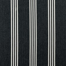 Charcoal Stripes Drapery and Upholstery Fabric by Clarke & Clarke