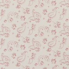 Rose Floral Small Drapery and Upholstery Fabric by Clarke & Clarke