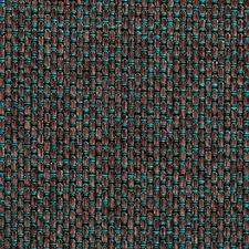 Peacock Basketweave Drapery and Upholstery Fabric by Clarke & Clarke