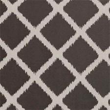 Espresso Diamond Drapery and Upholstery Fabric by Clarke & Clarke