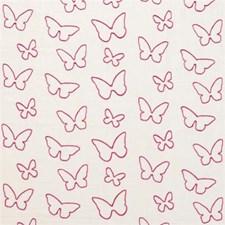 Fuchsia Animal Drapery and Upholstery Fabric by Clarke & Clarke