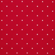 Red Drapery and Upholstery Fabric by Clarke & Clarke