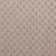 Taupe Ogee Drapery and Upholstery Fabric by Clarke & Clarke