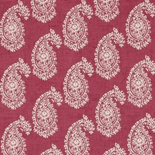 Raspberry Drapery and Upholstery Fabric by Clarke & Clarke