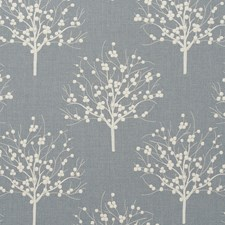 Chambray Weave Drapery and Upholstery Fabric by Clarke & Clarke