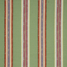 Basil Stripes Drapery and Upholstery Fabric by Clarke & Clarke