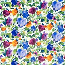 Violet Drapery and Upholstery Fabric by Clarke & Clarke